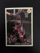 48-1992 FRONT ROW NATIONAL SPORTS COLLECTORS CONV. STACEY AUGMON PROMO CARD C815