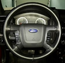 Wheelskins Steering Wheel Cover Solid Black for 1993-2008 Jeep Grand Cherokee