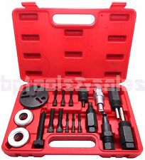 18pc A/C Compressor Clutch Hub Remover Kit GM Ford Chrysler Sanden DKS Puller