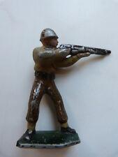"""Jouet ancien """"Soldat au fusil"""""""