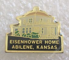 Eisenhower Home - Abilene, Kansas Museum Travel Souvenir Collector Pin
