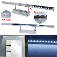 Modern 7W White LED Mirror Picture Wall Light 30SMD 5050 Bathroom Strip Bar Lamp