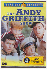ANDY GRIFFITH SHOW 4 CLASSIC EPISODES (DVD, 2001)