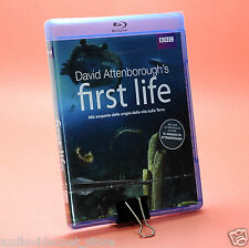 DAVID ATTENBOROUGH'S FIRST LIFE BBC Le origini della vita BLURAY BLU-RAY