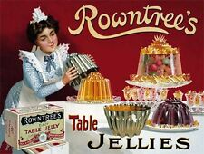 Rowntree's Jelly, Vintage Ad, Kitchen, Cafe or Restaurant, Novelty Fridge Magnet