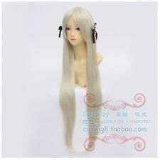 Yosuga no Sora Kasugano Sora Long Blonde Cosplay Wig