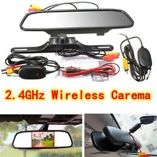 "4.3"" Car TFT LCD Monitor Mirror + Wireless Reverse Car Rear View + Backup Camera"