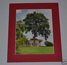 "GREGORY HUGH LENG MATTED PHOTOGRAPH PROOF SIGNED ""Washington's Mt. Vernon"" 5x7"
