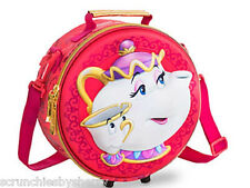 Disney Store Beauty and the Beast Mrs Potts Chip Lunch Box Bag Tote Belle 2016