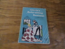 Ginnie Baby-Sitting Business (Paperback 1969) Free Domestic Shipping