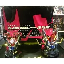 EVOLUTION TOY METAL ACTION GREAT MAZINGER Z JET PILDER BRAIN CONDOR PLATED COLOR