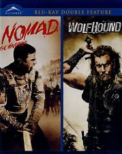 BRAND NEW DOUBLE FEATURE BLU-RAY // NOMAD :THE WARRIOR & WOLFHOUND //