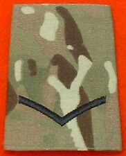 L/CPL Multicam Rank Slide LCPL Combat Multi Terrian Pattern Rank Slide MTP Badge