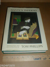 Dante's Inferno collector limited color artwork art print nice book Tom Phillips