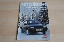 78750) Mitsubishi Lancer Combi Allrad Prospekt 11/1987