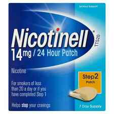 NICOTINELL 14MG / 24 HOUR PATCH STEP 2 PATCH - 7 PATCHES