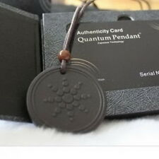 New Unisex Quantum Scalar Energy Pendant with Authenticity Necklace with Card O