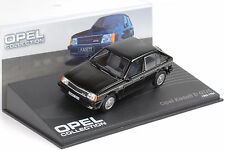 1983 / 1984 Opel Kadett D GT/E black schwarz 1:43 IXO Altaya Collection