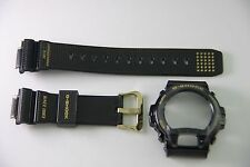Casio Original G-SHOCK DW-6930D-1 30th Carbon Fiber Black Gold Band  Bezel Combo