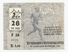 Orig.Ticket  Olympic Games HELSINKI 1952  Football  HUNGARY - SWEDEN 1/2 FINAL !