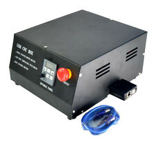 CNC 4 Axis USB MACH3 Control Box Driver Controller+Parallel to MPG USB Converter