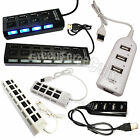 4/7 Port USB 3.0 2.0 1.1 Speed Power HUB ON/OFF Switch for Laptop Macbook LOT