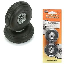 "DuBro 200T Low Bounce Treaded Airplane Wheels 2"" (2)"