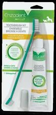 Enzadent Poultry Flavor Toothbrush Kit by Vetoquinol