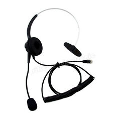 Replacement Headset For Plantronics / PLT S10 S50 T50 T100 telephones black