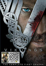 VIKINGS: The Complete Seasons 1,2 and 3 (DVD) Season 1 2 3 NEW!