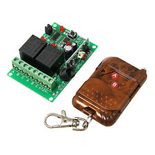 DC 12V 2 Channel Wireless Relay module & remote controller RF receiver,2 CH RF