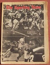 11-16-68 SPORTING NEWS KANSAS CITY CHEIFS AMERICAN FOOTBALL LEAGUE ON COVER