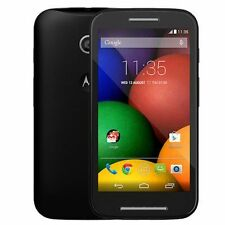 Motorola Moto E 4G LTE 2nd Gen Android GSM Smartphone by Consumer Cellular Black