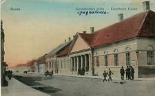 Serbia Ruma Рума - Kolodvorska ulica 1915 postcard
