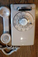 VINTAGE Stromberg-Carlson Rotary Dial Working Wall phone - Beige/Cream/Tan