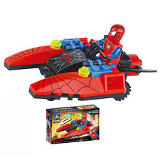 Fun Cute Spider-Man Fire Bird Figures Building Blocks Kids Children Baby Toy Set