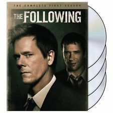 The Following: The Complete First Season (DVD, 2014, 4-Disc Set) Free Shipping!