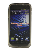 Samsung Galaxy S2 Skyrocket HD i757 TPU Gel Skin Case Cover Protector Smoke