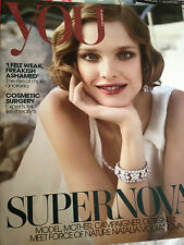 STUNNING! You Magazine Jan 2013 NATALIA VODIANOVA Miranda Kerr Bettine Le Beau