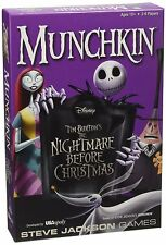 Nightmare Before Christmas Munchkin Game Sealed New USAoply Steve Jackson Games