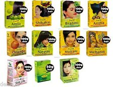 Choose Any 6 products from picture Picture Hesh Amla Shikakai Neem Brahmi powder