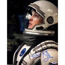 Steiner Anne Hathaway Signed 11x14 Interstellar Photo (PSA/DNA)