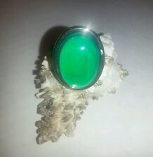 NEW LARGE OVAL MOOD RING 70'S STYLE RETRO RING ADJUSTABLE
