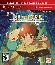 Ni No Kuni: Wrath of the White Witch [PlayStation 3 PS3, Studio Ghibli JRPG] NEW