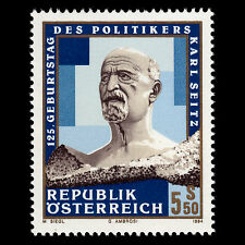 Austria 1994 - 125th Anniv of the Birth of Karl Seitz - Sc 1657 MNH