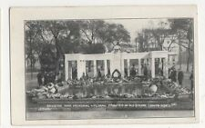 Brighton, War Memorial Floral Tributes in Old Steine Postcard, B178