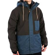 HOLDEN Men's EDISON Snow Jacket - Flint / Orion Blue - Large - NWT