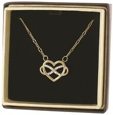 Infinity HEART Necklace by Alora