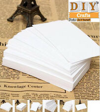 100pcs White Blank Business Cards 120gsm - 90 x 55mm - Print Your Own DIY Crafts