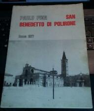 paolo piva-san benedetto di polirone storia di un complesso monastico-roma 1977
